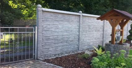 gard beton prefabricat
